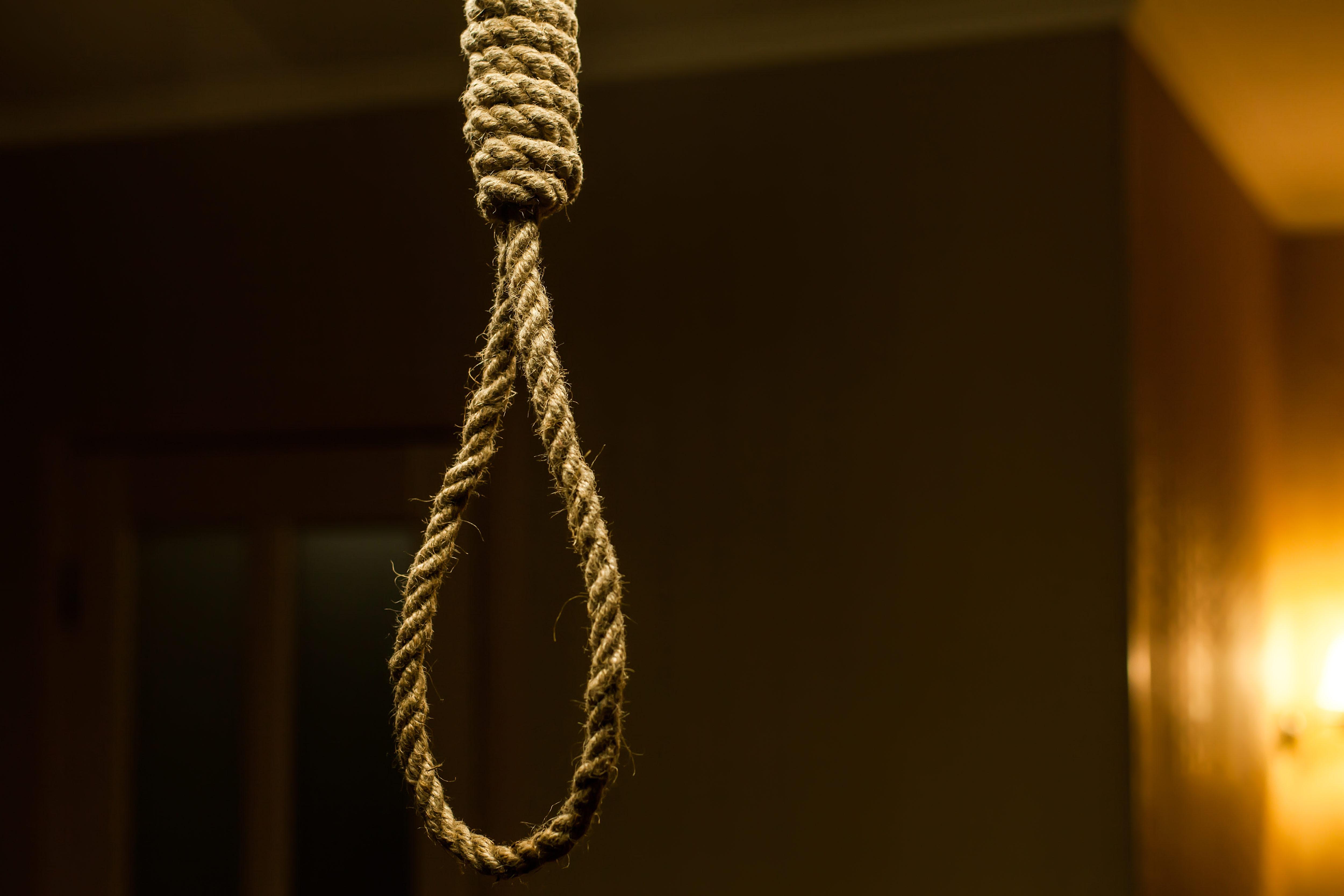 首つり自殺