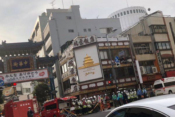 中華街・交通事故