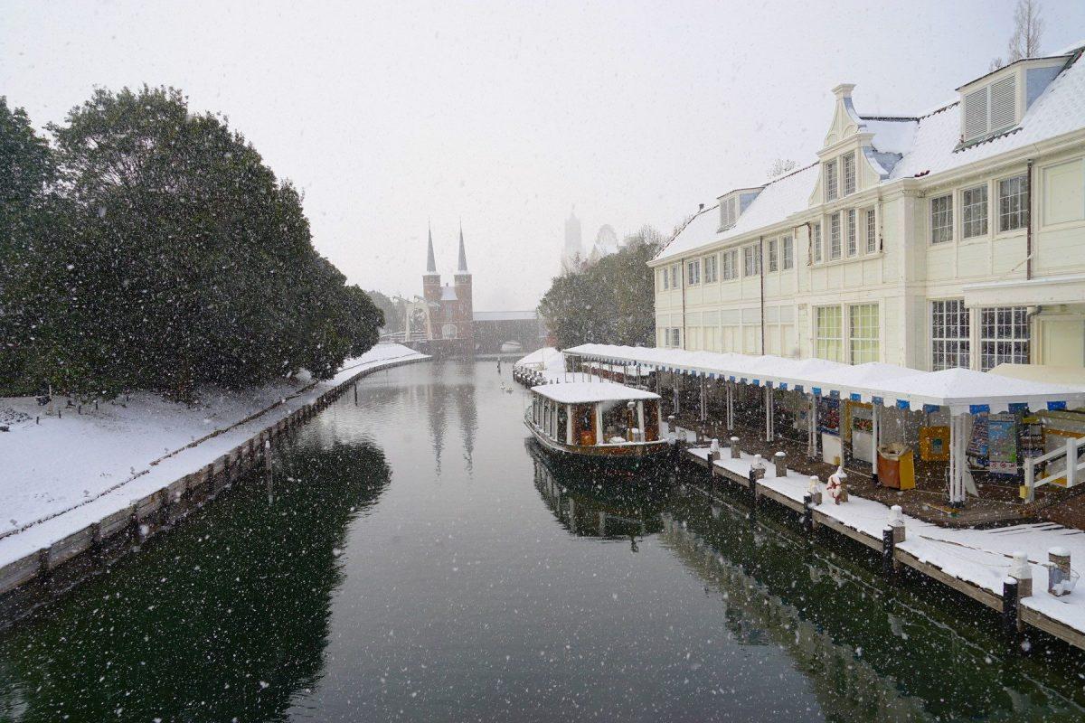 ハウステンボス・雪景色