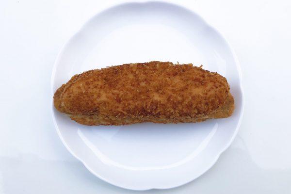 はみでるスティックバーガー鶏の竜田揚げ