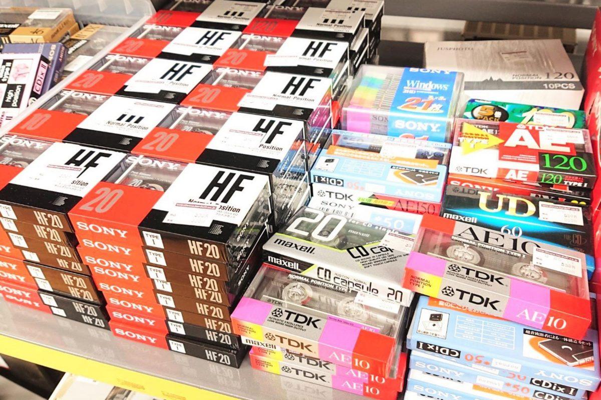 数百円だったカセットテープ、20年の時を経て叩き出した「現代価格」に驚きの声