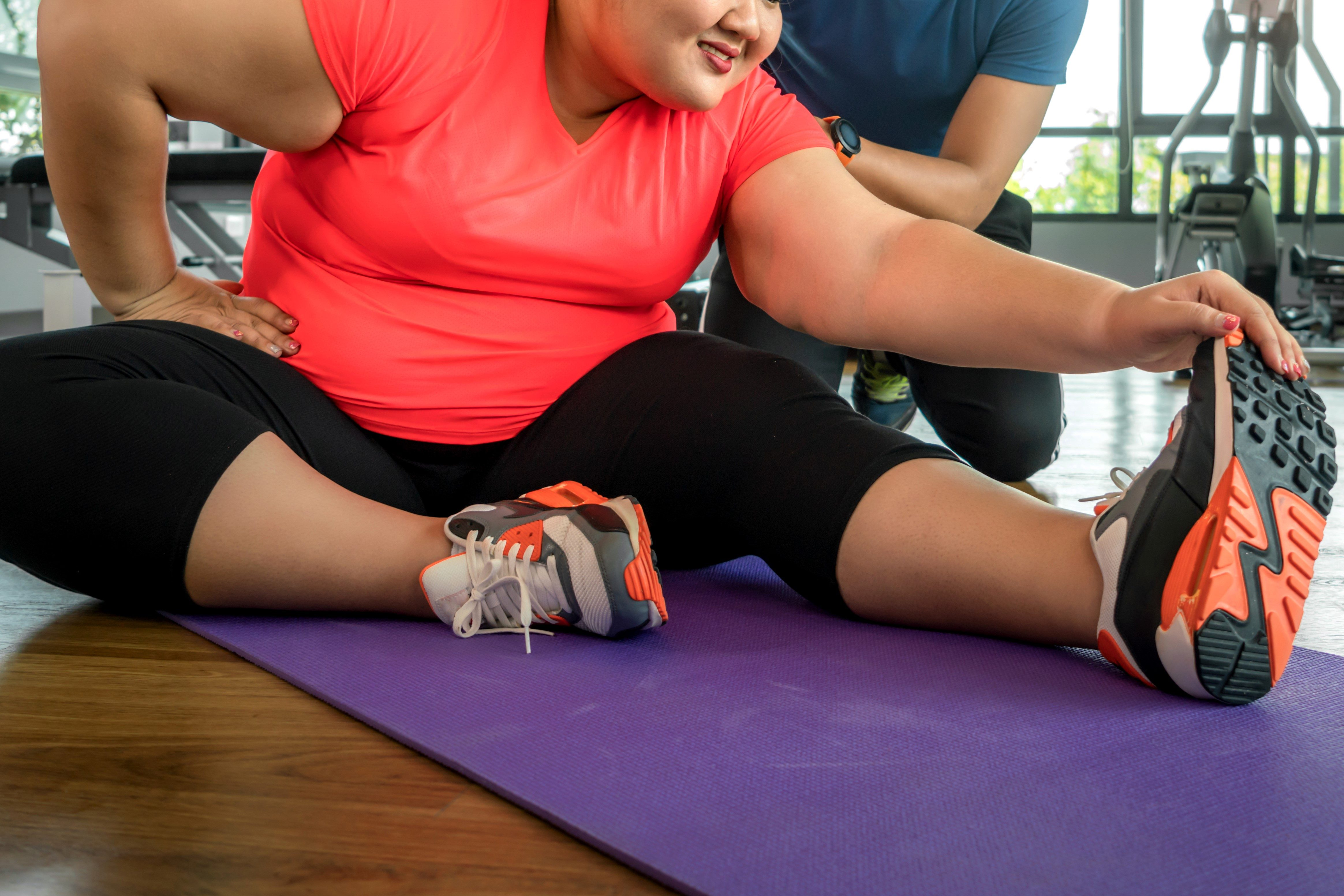 肥満女性・トレーナー