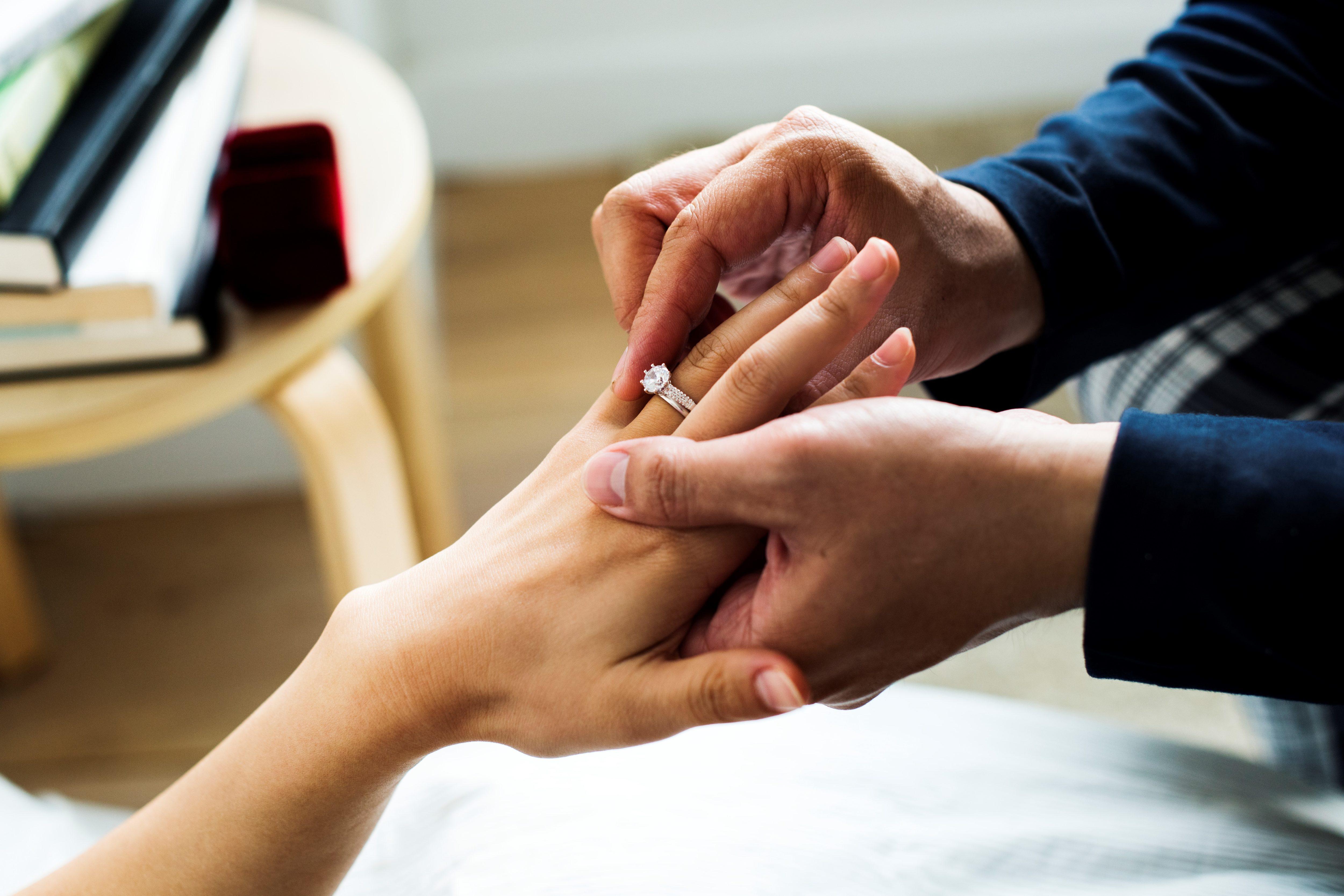 婚約指輪・婚約・プロポーズ