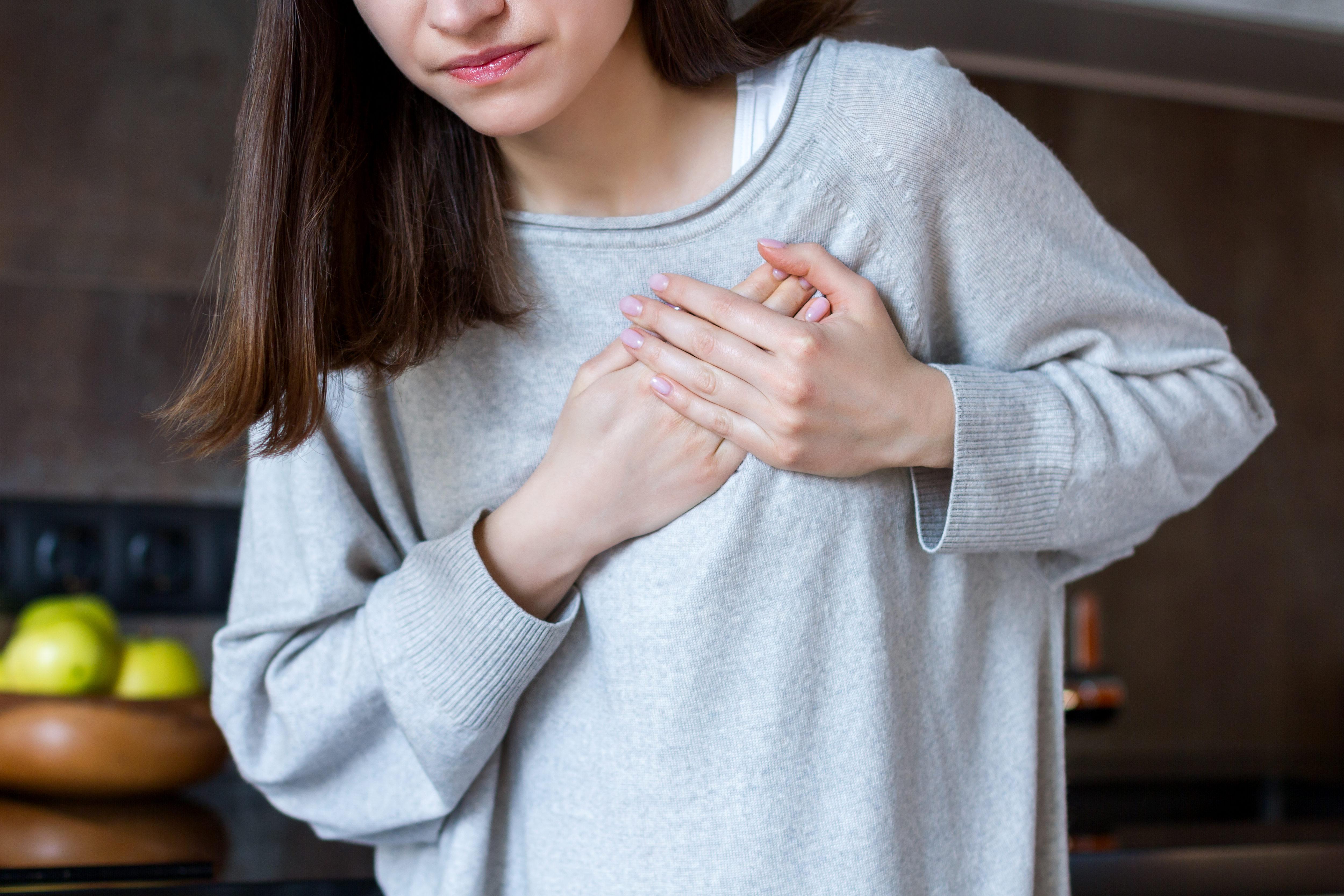 心臓発作・女性