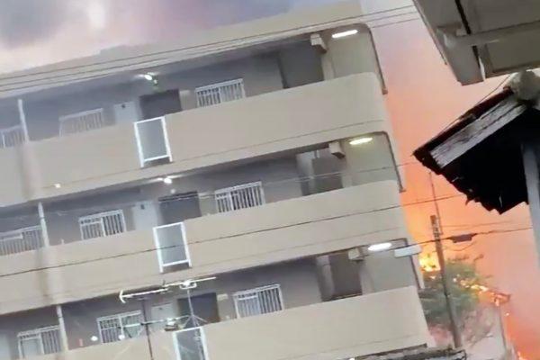 愛知県一宮市火事