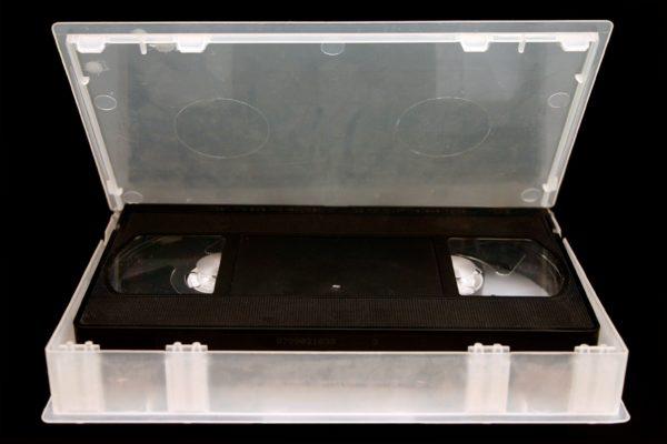 ビデオテープ・VHS・レンタル