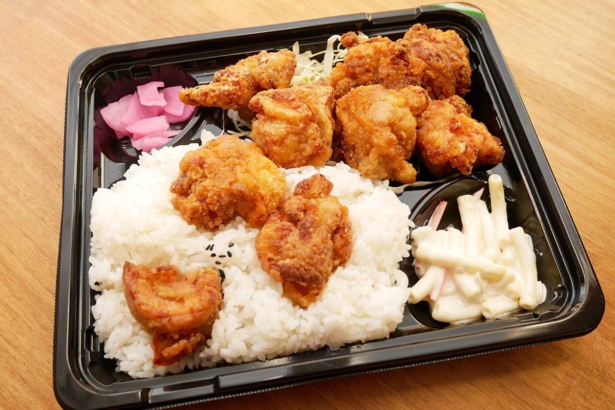 メガ鶏唐揚げ弁当