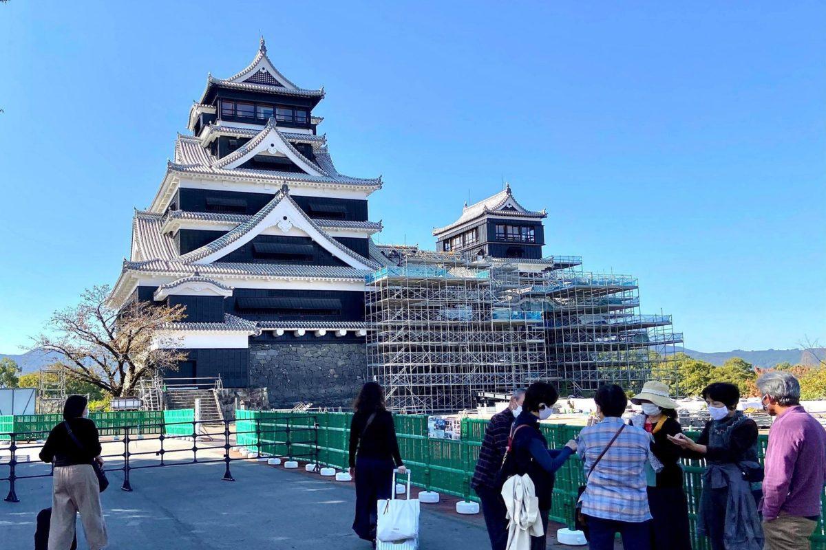 熊本城復旧作業