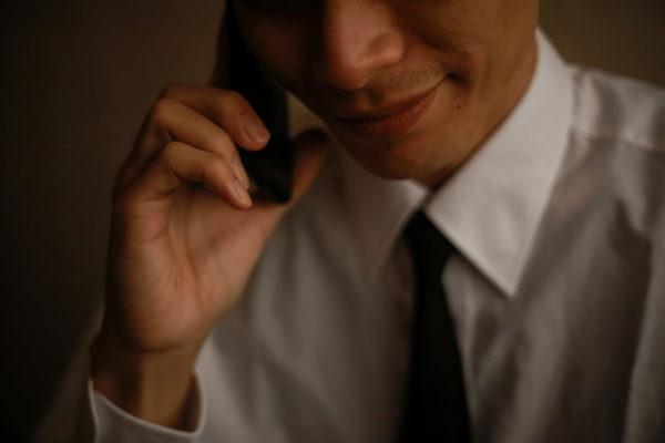電話・男性