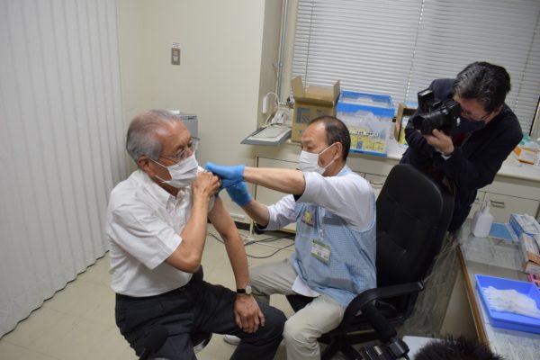 ワクチン接種・市長