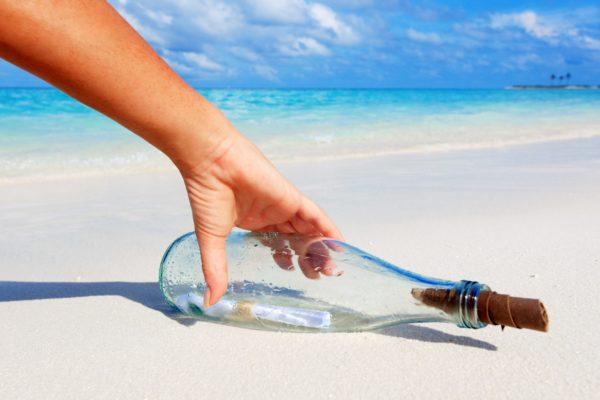 ボトルメールが3000キロ以上漂流し外国少年の手に 海を越えた友情芽生える