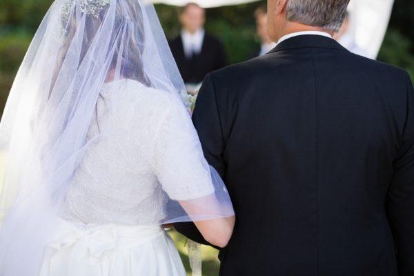 結婚式・中年カップル