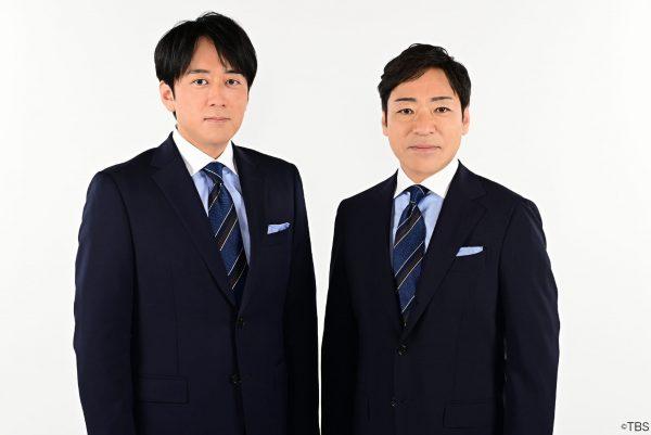 TBS朝の新番組『THE TIME』 安住アナと香川照之の「双子コーデ」が話題に