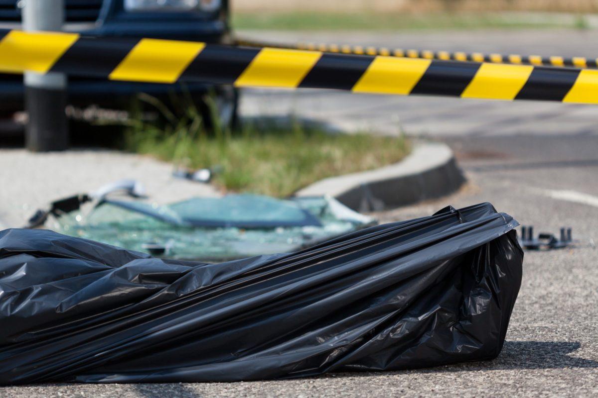 事故・事故現場・死亡事故・遺体・遺体袋