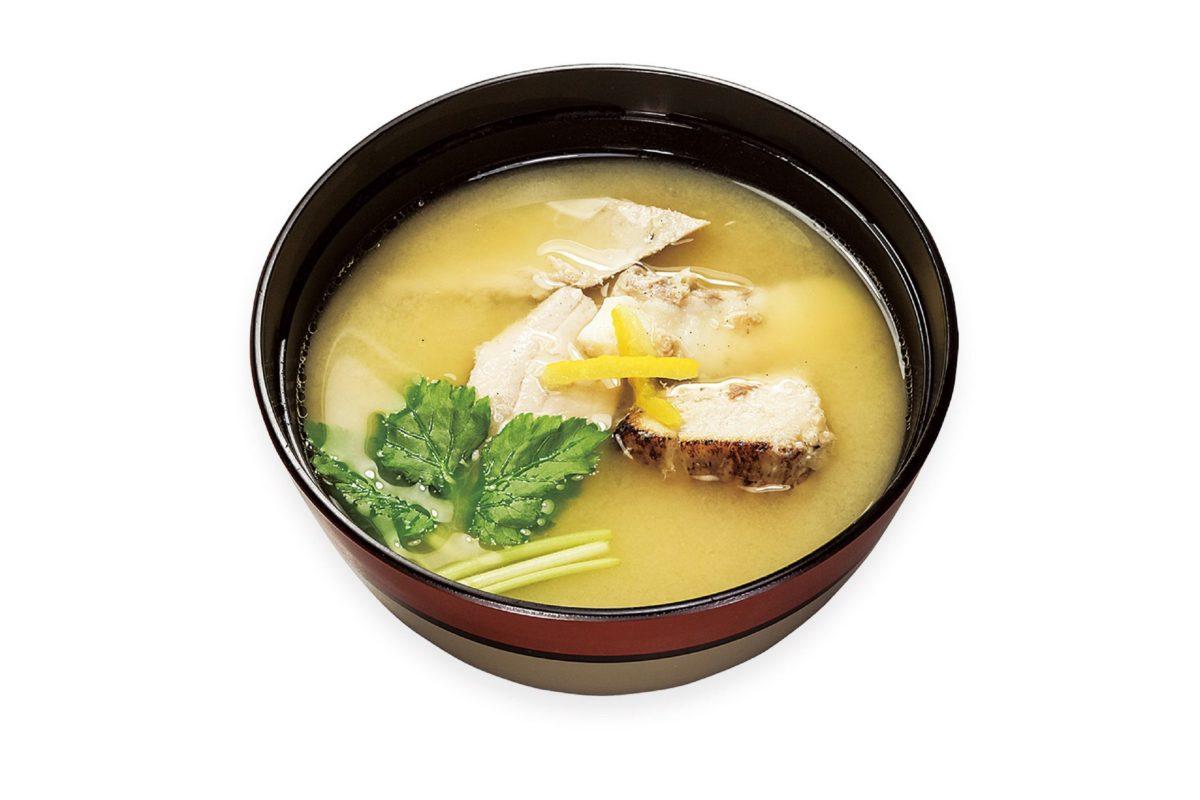 くら寿司(あら汁)