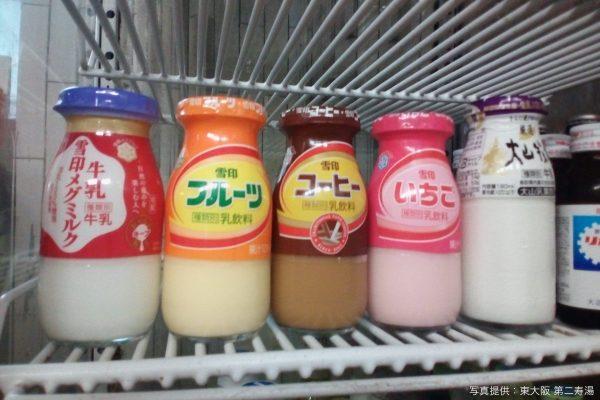 銭湯・牛乳