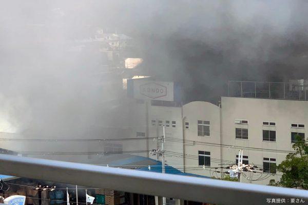 東大阪市火災
