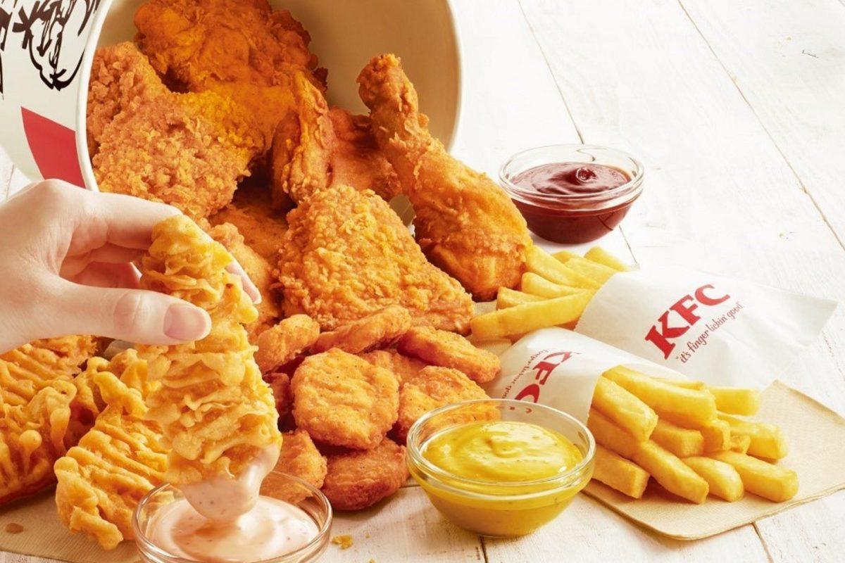 KFC・ディップバーレル