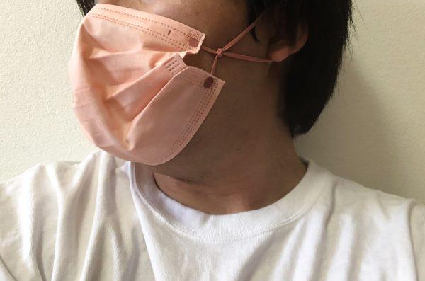 マスクの着け方紹介