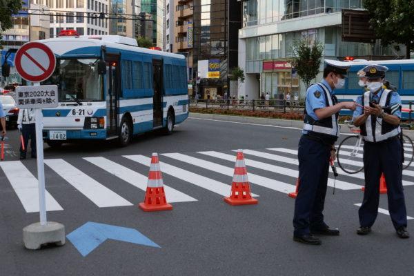東京五輪・交通規制