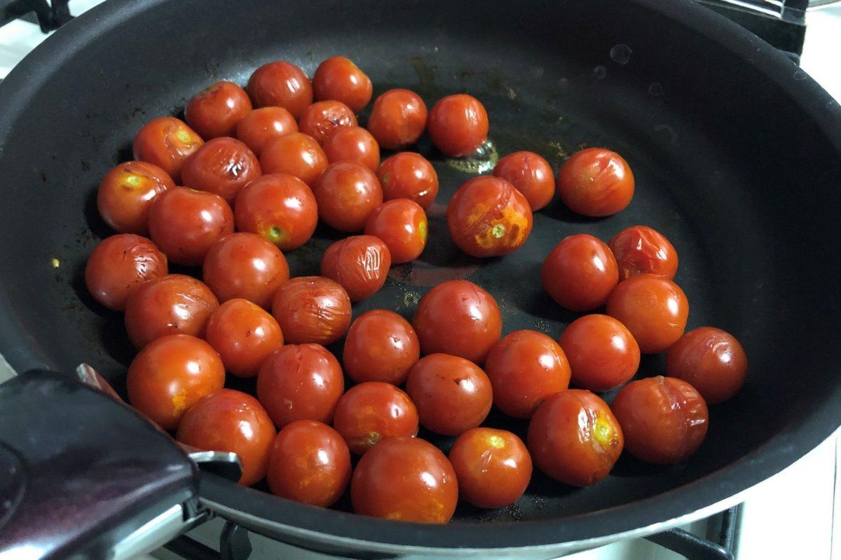 ミニトマトの焼きびたし