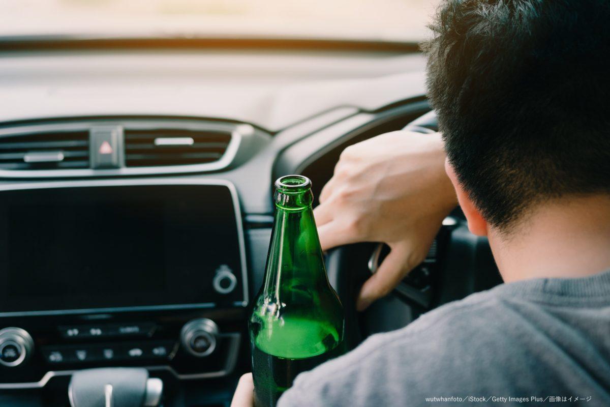飲酒運転・酒・車