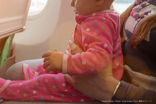 飛行機・旅客機・子供連れ