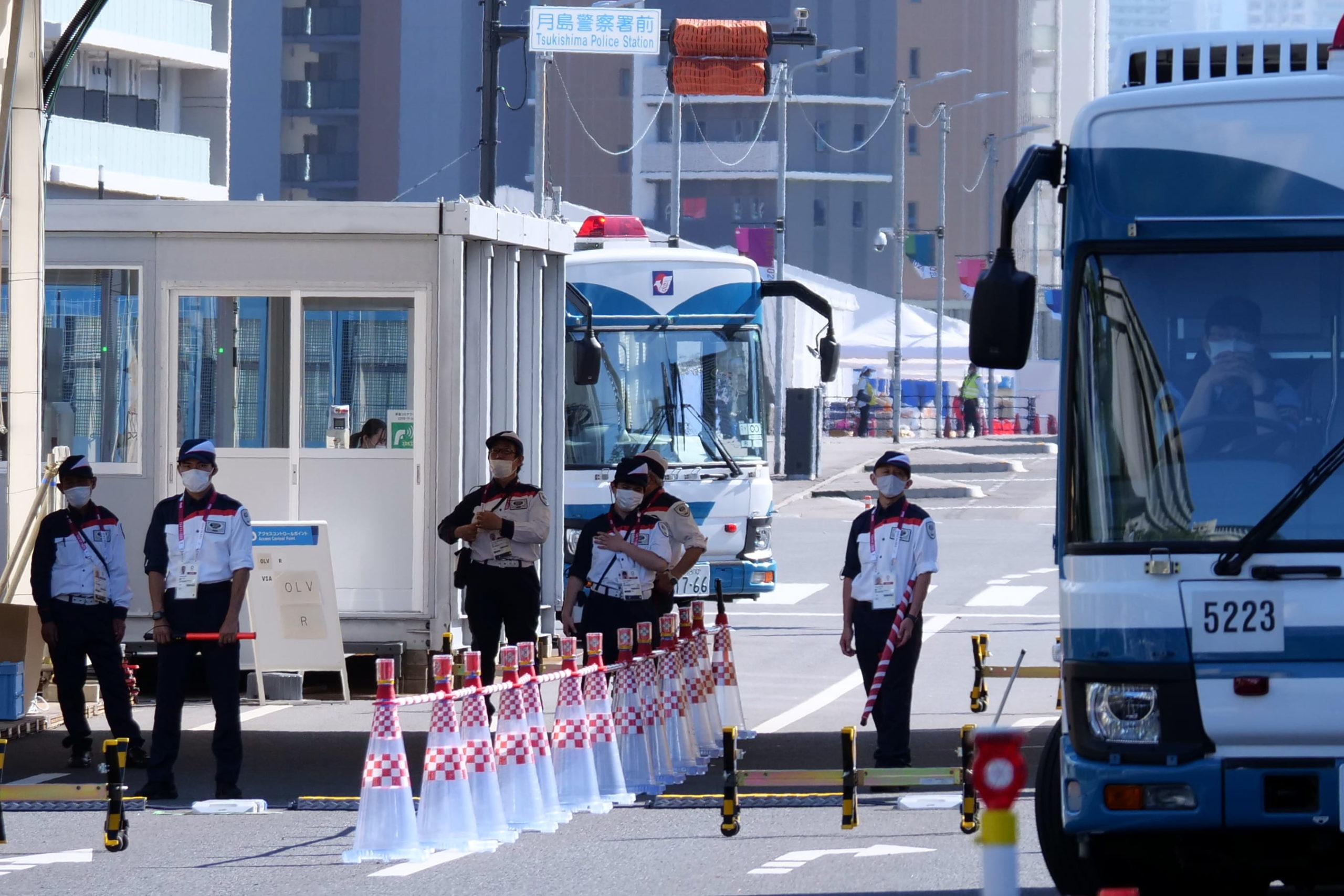 東京五輪選手村警備