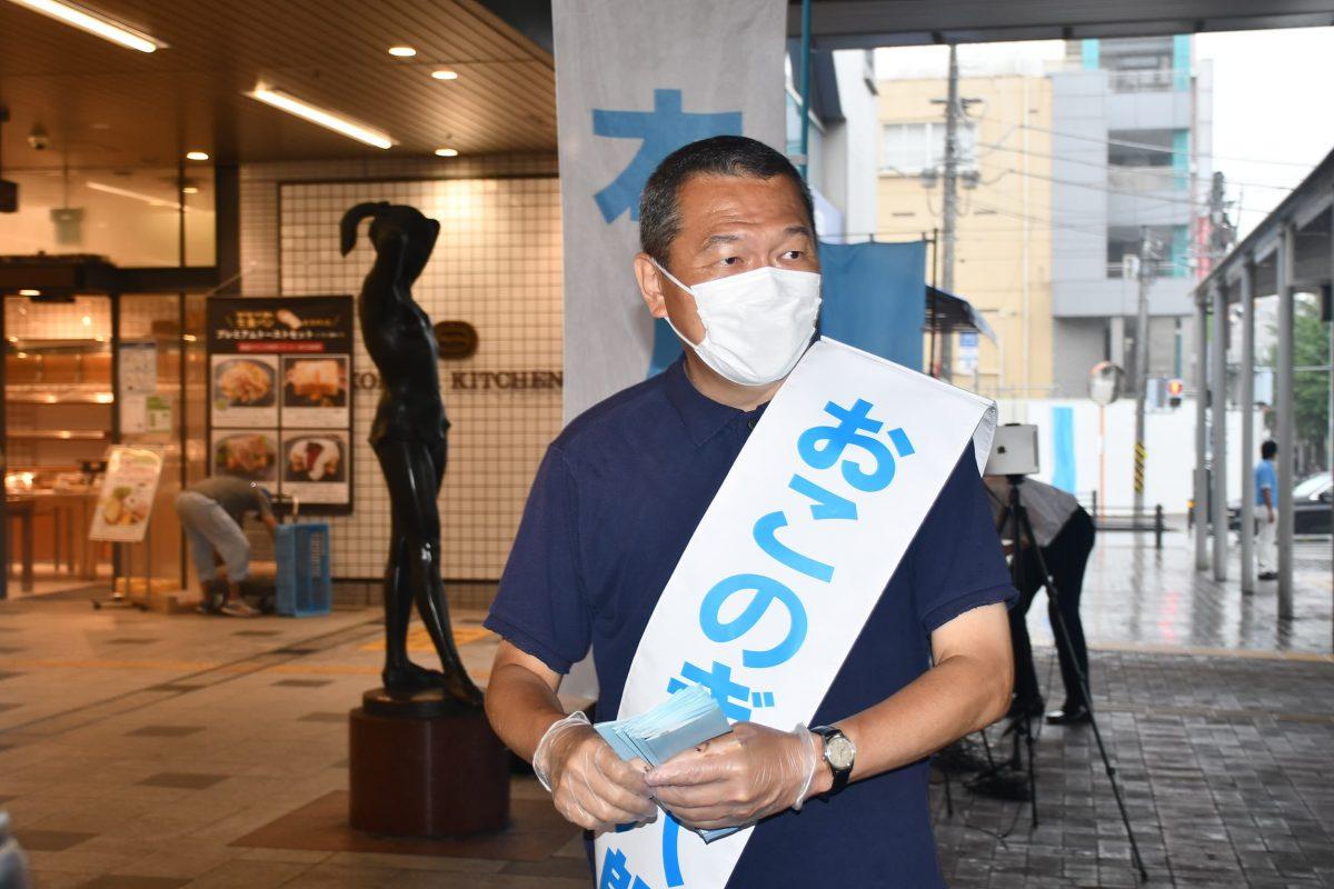 横浜市長選 小此木八郎
