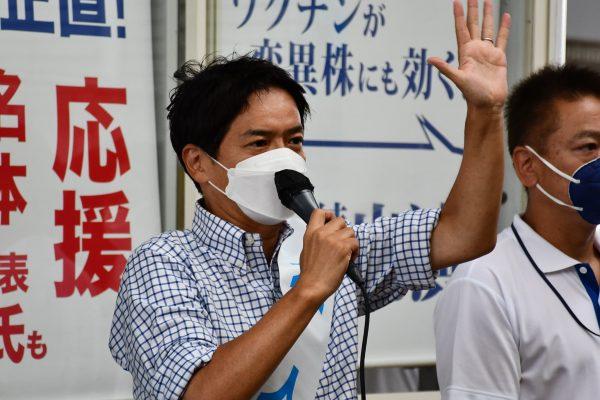 過熱する横浜市長選で山中竹春元教授の音声データが公開 陣営に直撃した