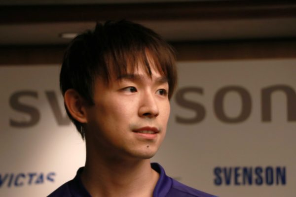 丹羽孝希選手