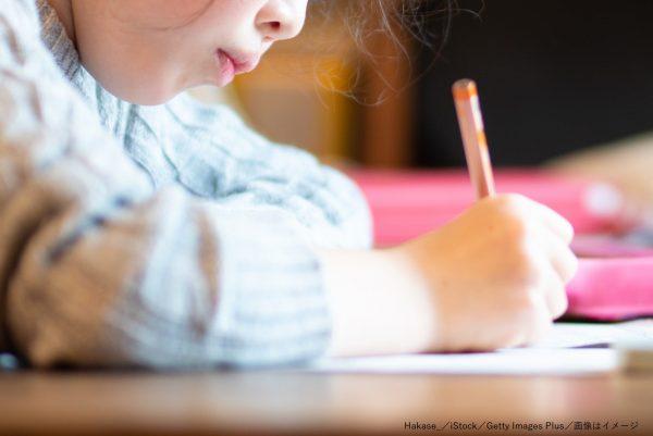 勉強・宿題・女の子・少女