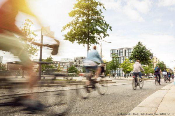 サイクリング・サイクリスト・自転車・道路