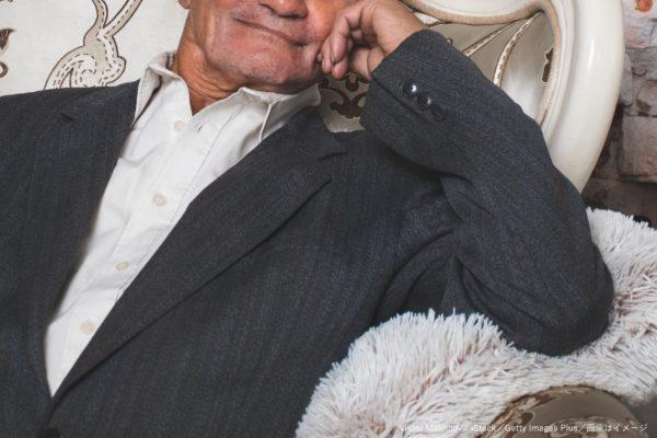 高齢男性・老人・ハンサム・モデル