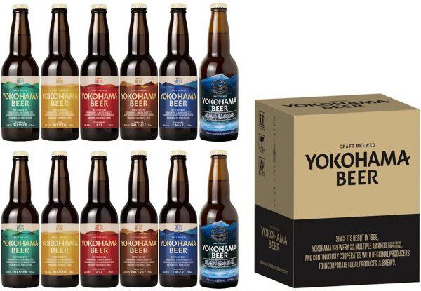 横浜ビール飲み比べ12本セット