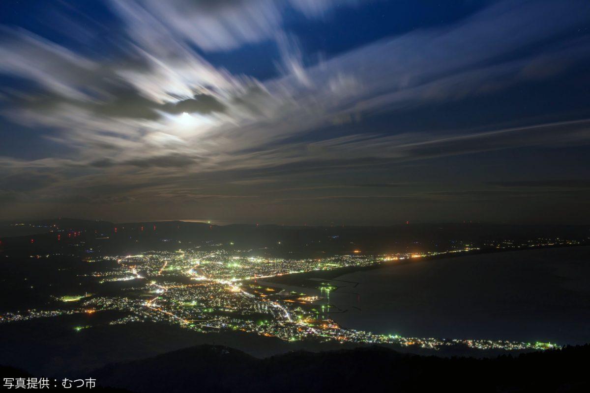 むつ市夜景
