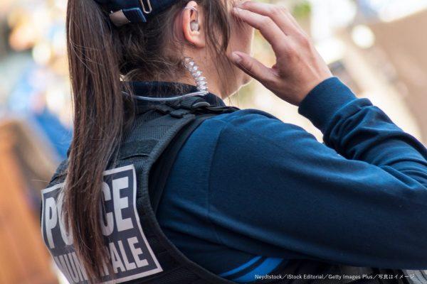 警察官・警官・女性