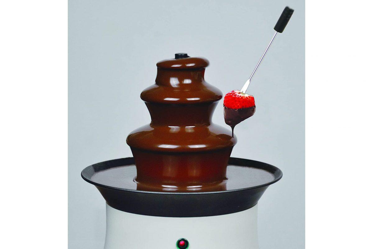 パール金属リトルリッチ電気チョコレートファウンテン