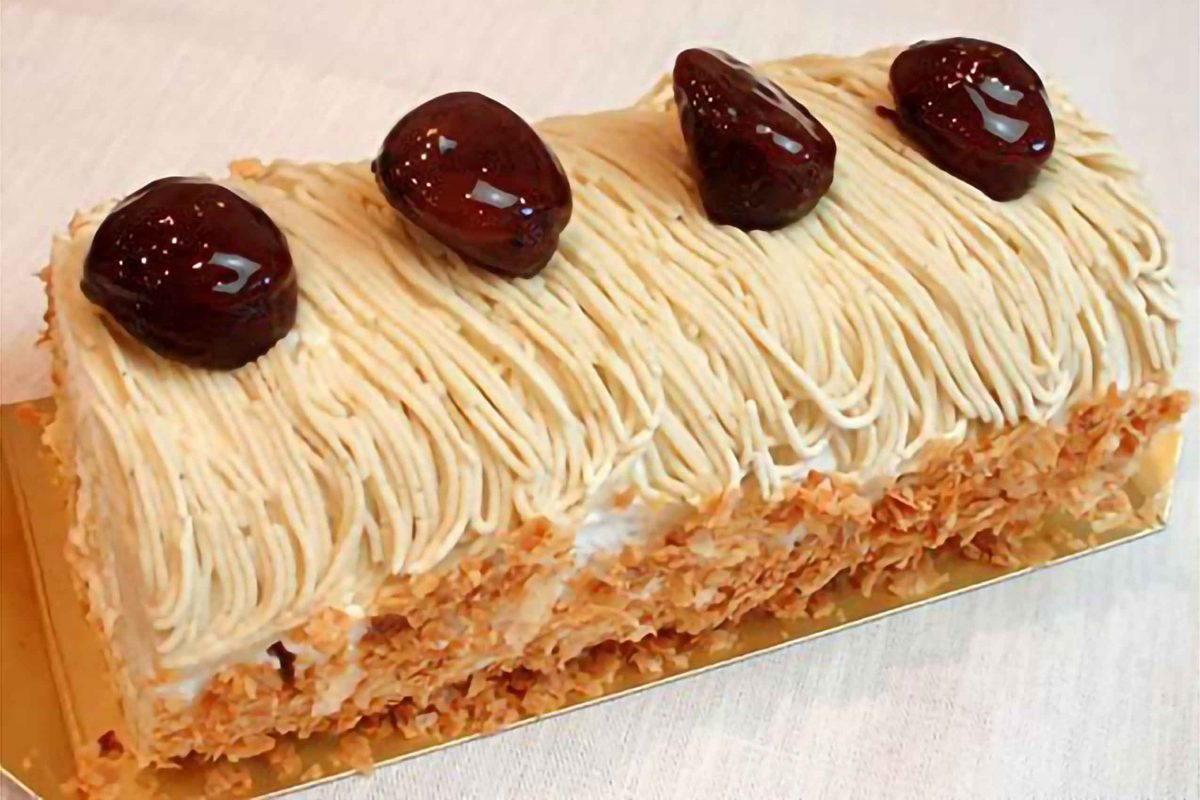 神戸スイーツ 和栗のロールケーキ