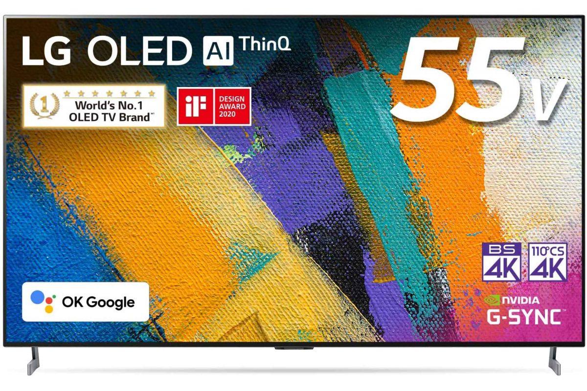 LG 有機ELテレビ OLED55GXPJA