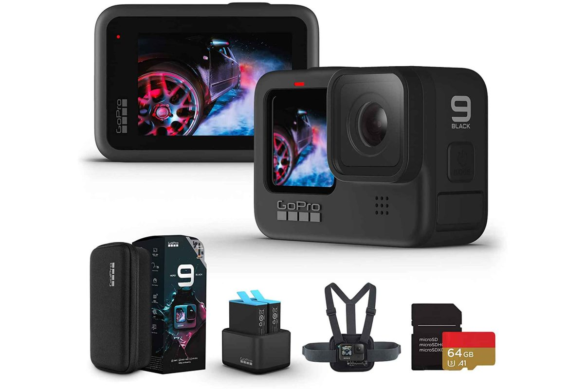 GoPro HERO 9 Black Challenger set